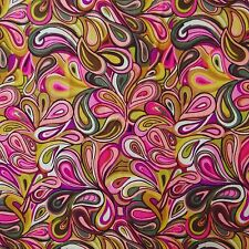 Multicolor 100%Cotton Sewing Fabric Floral Print Craft Curtain Drape By Metre