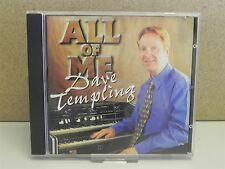DAVE TEMPLING- All of Me CD (1999) Hammond Organ B250/Solton X1 Keyboard Music