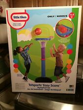 New Little Tikes Tot sports Easy Score Basketball Set ages 1-5 years Boys/Girls