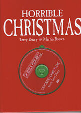 Horrible Christmas hardcover book + CD by Terry Deary