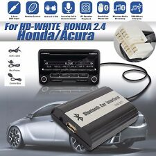 BlueTooth A2DP + USB Flash Drive Car Stereo Adapter Interface Fit For Honda 2.4