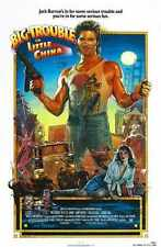 Big Trouble In Little China Poster 01 A3 Box Canvas Print