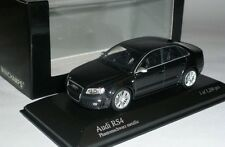 "Audi RS4 2005 1:43 ""Phantom"" Black Metallic Ltd Edition 1200 pcs by Minichamps"