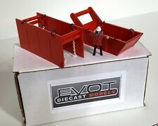 Evot - Bedding & Trench Box Set. Authentic Hitachi Orange. USA Made. 1:50, 1:48