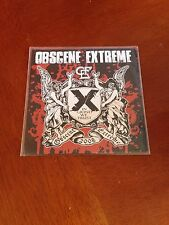 Obscene Extreme Festival Death Grind Cd New Extreme Noise Terror Desecration Etc