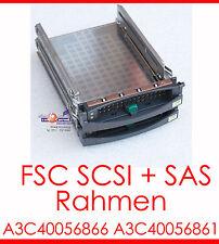 SCSI SAS FSC HOTSWAP RAHMEN TRAY HDD CADDY A3C40056866 A3C40056861 FÜR RAID OK!
