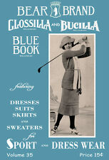 Bear Brand Blue Book #35 c.1921 - Vintage Sweater Patterns for Women's Sports