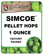 HOPS HOP PELLETS SIMCOE DUAL PURP 1oz NITRO FOIL FACTORY PACKED BREWING BEER KIT