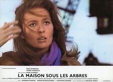 FAYE DUNAWAY LA MAISON SOUS LES ARBRES 1971 VINTAGE PHOTO LOBBY CARD N°1