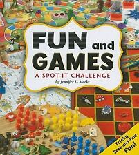 Fun and Games: A Spot-It Challenge (A+ Books)-ExLibrary