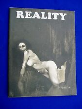 Reality 1: US fanzine  1970 : Jeff Jones, Frank Brunner, Wrightson, Mike Kaluta.