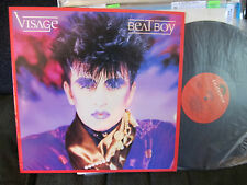 VISAGE Beat Boy vinyl LP 1984 new wave ultravox polydor rare oop! synth!