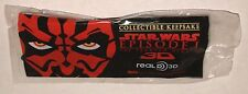 DARTH MAUL 3D GLASSES STAR WARS Phantom Menace REAL-D souvenir promo SEALED
