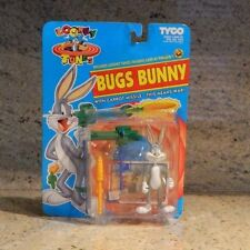 1993 TYCO Looney Tunes Bugs Bunny Action Figure with Carrot Missile 1010-1
