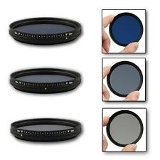 Fotga 62mm Slim Adjustable Variable Color Conversion Fader ND Blue Lens Filter