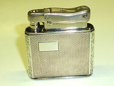 IBELO MONOPOL ART DECO WICK LIGHTER W. 925 STERLING SILVER CASE - 1952 - GERMANY