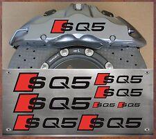 8 Stück Audi SQ5 Bremssattel Aufkleber Sticker Hitzebeständige Q5 R8 S4 S5