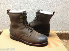 UGG MEN HANNEN GRIZZLY LEATHER Boot US 8 / EU 40.5 / UK 7