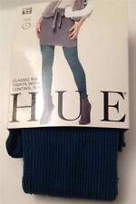 Hue Classic Rib Tights Control Top~Galaxy~Style #11409 ~Size 1 ~ New With Tags