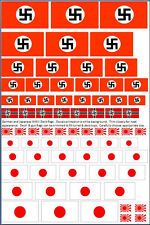 1/350 1/700 German Japanese WWII Deck &Turret  decals for Ships Bismarck Tirpitz