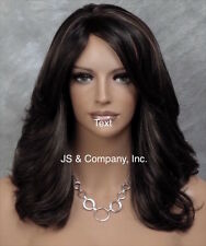 Beautiful Classy Elegance Wavy Off Black Mix FULL Wig JSMN 1B-27