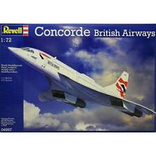 REVELL 1:72 scala BRITISH AIRWAYS CONCORDE aeromodellismo KIT - 04997
