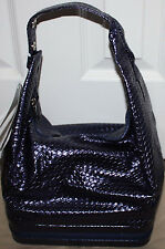 ULTA 76 Pc Totes For Beauty Blockbuster Indigo Makeup Set In Hobo Style Bag  **
