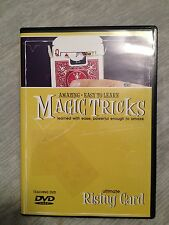 Amazing Easy to Learn Magic Tricks: Ultimate Rising Card DVD with Gimmick