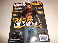 MODERN DRUMMER MAGAZINE-LAMB OF GOD'S CHRIS ADLER MARCH 2013-EUC
