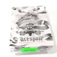 Bicycle Ellusionist Arcane Gaff Deck White Magic US Playing Cards Poker NEW