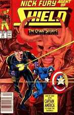 NICK FURY Agent Of SHILED #10 Marvel US Comic 1990 Captain America Avengers Thor