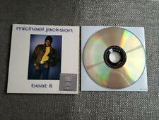 Michael Jackson Beat It   Dual CD / DVD  Single Card Sleeve