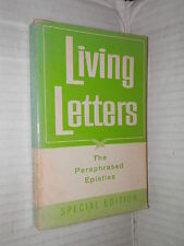 LIVING LETTERS The Paraphrased Epistles Kenneth N Taylor Tyndale House 1967 di