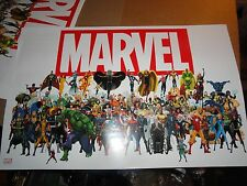 2013  NYCC    MARVEL  POSTER    GROUP SHOT OF ALL CHARACTERS