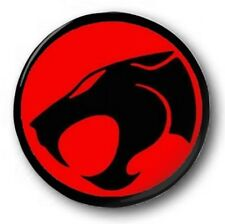"Thundercats Logo  25mm 1"" Button Badge - Kids Retro TV Nostalgia 80's Novelty"