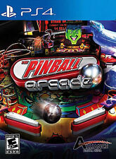 PINBALL ARCADE PS4 NEW! BALLY, STERN WILLIAMS GOTTLIEB, STAR TREK, TWILIGHT ZONE