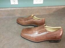 SANDRO Moscoloni Anatomic Gel Men's Brown Leather Slip On Loafers 7.5 D