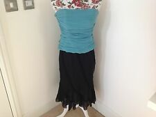 COAST Beautiful Skirt & Bustier Strapless Top RRP £170 size 10-14