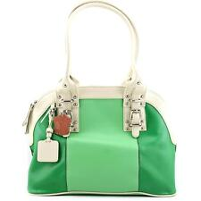 Madi Claire Carolyn Women Green Shoulder Bag