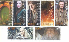 New Zealand-The Hobbit:Battle of the Five Armies mnh set of 7(nov.2014)