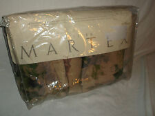 "ATELIER MARTEX FULL SIZE BED SKIRT BEDSKIRT DUST RUFFLE ""SONATINA"" FLORAL NEW!"