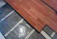 Fußbodenheizung Infrarot Heizfolie -für Fliesen, Laminat usw- 50cm, 110W/m, 220V