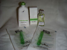 MUGLER COLOGNE BY THIERRY MUGLER FOUR PIECE HOME OR TRAVEL SET. NICE!