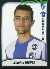 095 NICOLAS DIEUZE FRANCE GRENOBLE FOOT 38 STICKER FOOT 2010 PANINI