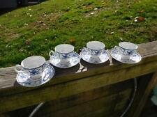 "Johnson Bros England ""INDIES"" Pattern Blue & White Cup & Saucer Set"