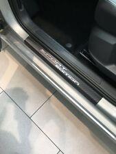 Carbon Chrom Einstiegsleisten für Peugeot 308 SW Carbonfolie