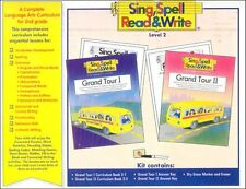Sing Spell Read Write Level 2 Home Kit Homeschool Curriculum 2nd Grade 2