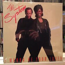 "SEALED 12""~The SYSTEM~I Wanna Be Your Lover~HOUSE~LUVAHOLIC~DUB MIX [6 MIXES]"