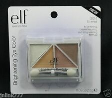 New E.L.F. Elf Brightening Quad Eye Color/Eyeshadow-2014 Ethereal