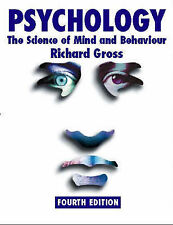 Psychology: The Science of Mind and Behaviour by Gross, Richard D.
